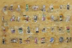 10-Laberinto horizontal II 2015 Acrílico s tela. 130 x 200 cm