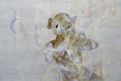 Danza nocturna 2012.T+®cnica mixta sobre papel .92 x 106 cm